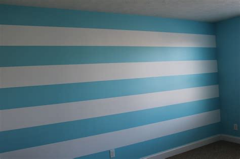 striped wall diy painting stripes on walls frugal fanatic
