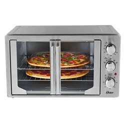 Best Toaster Oven For Pizza Oster 174 Extra Large Countertop French Door Oven At Oster Ca