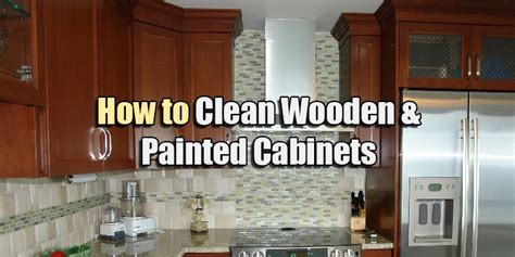 How To Clean Oak Wood Kitchen Cabinets - how to clean wooden amp painted cabinets kitchen amp bath