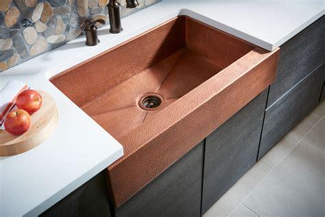 kitchen island kit for residential pro copper kitchen sink home hardware undermount kitchen