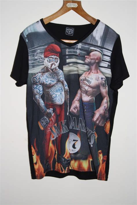 T Shirt Popeye 2 mens t shirt size l print graphic