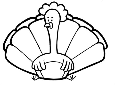 Turkey Coloring Pages For Kids Free Coloring Pages For Turkeys Coloring Pages