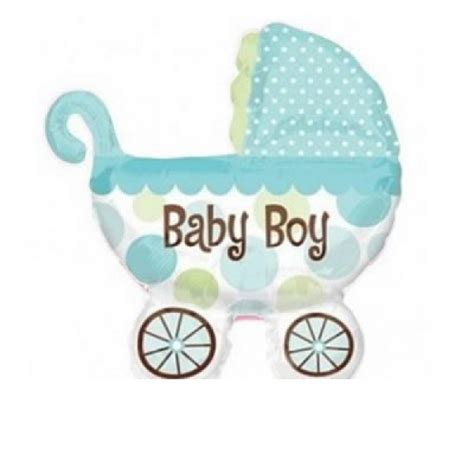 Balon Foil Baby Boy Balon Baby Shower Balon Baby Boy 5pcs lot anagram baby buggy boy foil balloons mini shape