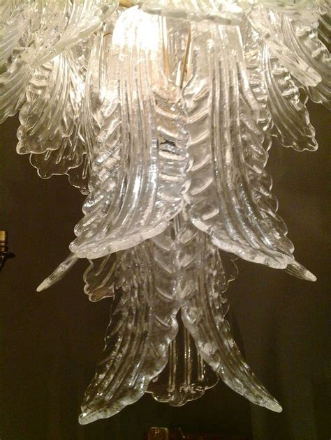 Chandeliers Ta Barovier E Toso Leaf Chandelier At 1stdibs