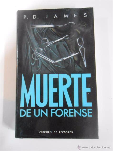 libro muerte de un hombre muerte de un forense p d james tdk3 comprar libros de terror misterio y polic 237 aco en