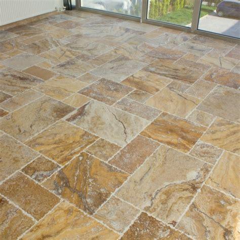 stone miami scabos travertine tile french pattern