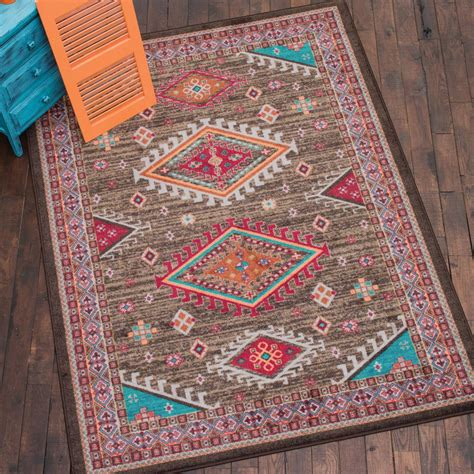 Desert Rug by Desert Turquoise Rug Collection