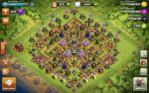 th10 layout post update th10 farming base volta 3 0 after the 275 walls update