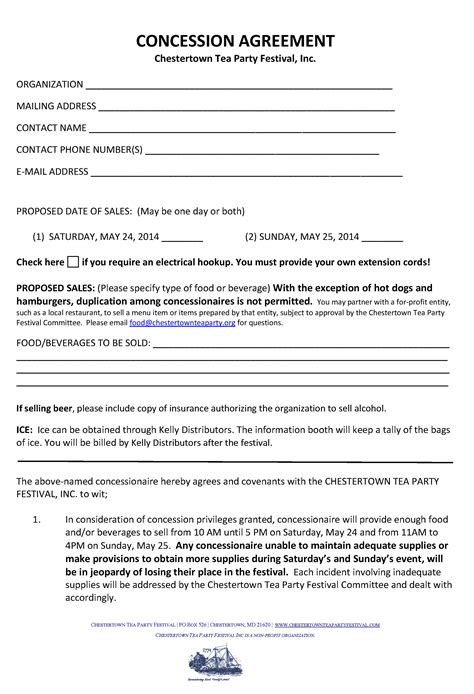 event vendor contract template doc 575709 vendor