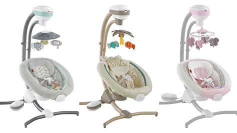 fisher price swing n rocker recall fisher price recalls infant cradle swings due to fall