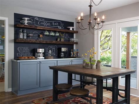Dining Room Coffee Bar Photos Hgtv