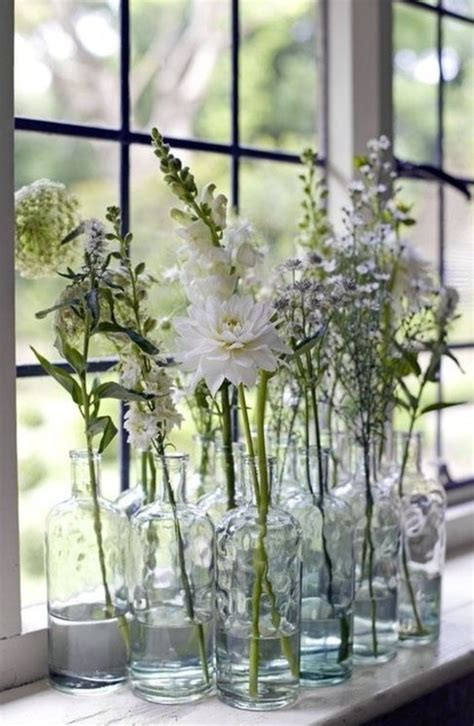 Flower Decor In Window Kitchen Decoration 57 Ideas As You Discover The Potential Of