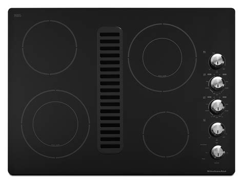 Downdraft Electric Cooktop 30 Inch bray scarff appliance kitchen specialist