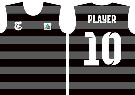 desain baju futsal nike depan belakang membuat desain baju bola futsal dengan motif badan depan