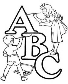 abc coloring pages free printable abc coloring pages for