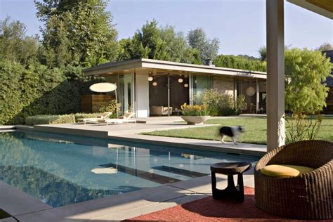 mid century modern brentwood home by bush co
