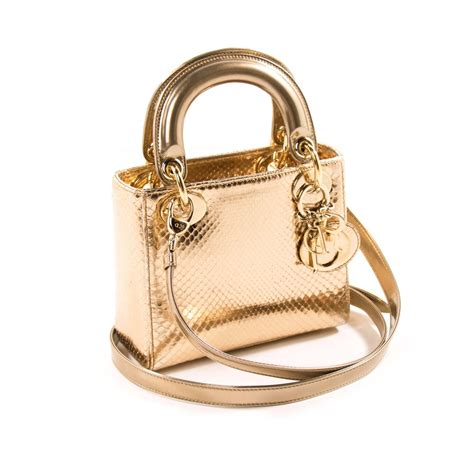 Shopping Gold Python Blackberry Purse by Shop Authentic Christian Mini Python At Re