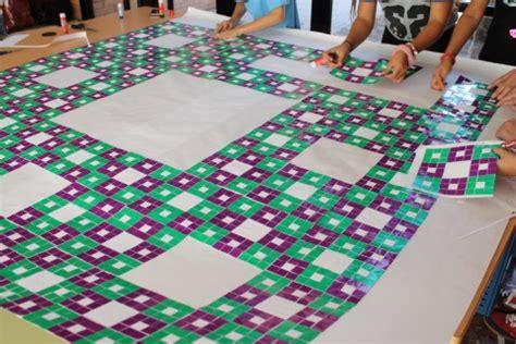 alfombra de sierpinski una alfombra de sierpinski mundial masscience