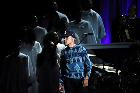 kirk franklin rap grammys chance the rapper performs with kirk franklin