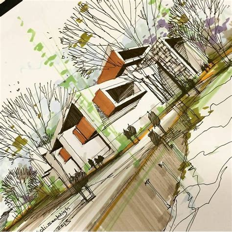 design architect instagram architecture daily sketches on instagram by mahdi