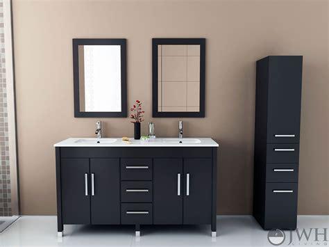 59 sink vanity 59 quot sirius mount sink vanity espresso