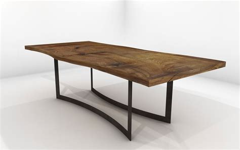 Handmade Wood Dining Table - ursa dining table sustainable handmade furniture jh2