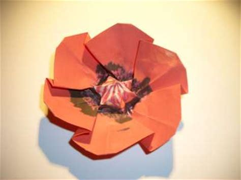 Origami Poppy Flower - joost langeveld origami page