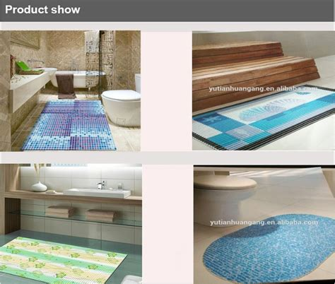 Custom Size Bath Mats by Custom Size Bath Mat Pvc Anti Slip Rubber Backed Mats
