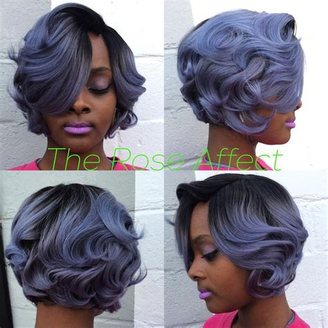 Pin by DJ. ? on HAIR LAID [PART 2].   Pinterest   Hair coloring, Bobs and Curly