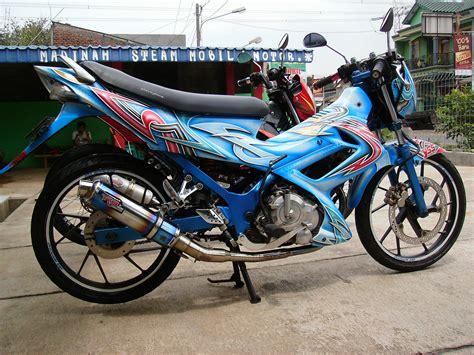 Modifikasi Motor Airbrush by Foto Modifikasi Motor Airbrush Satria Fu Terkeren Dan