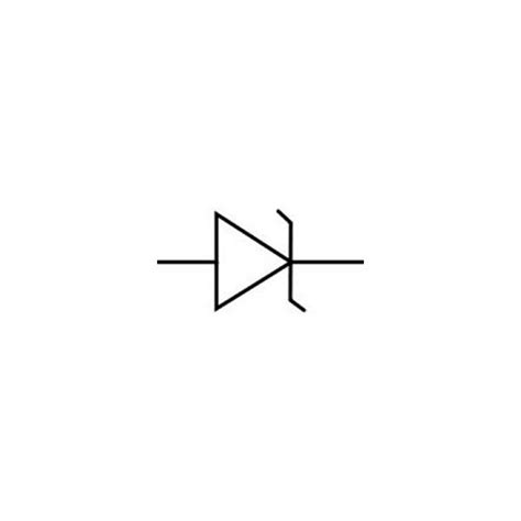 diode symbol stripe zener diode identification and uses