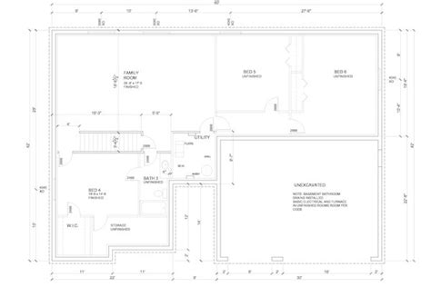 how to draw a basement floor plan basement framing how to frame your unfinished basement