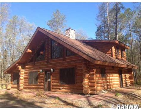 Log Cabin Danbury Wi by Chalet Wisconsin Lake Cabins Mitula Homes