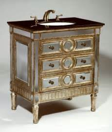 32 inch nemo vanity mirrored sink chest mirrored sink