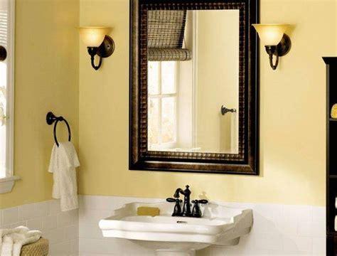 decorative bathroom mirrors style doherty house diy framing bathroom mirror in creative diy mirror frame
