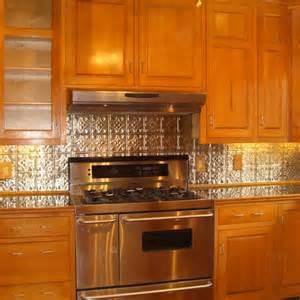 tin backsplash home inspiration