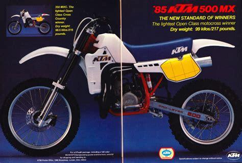 Ktm 500 Mx Pin Ktm Mx 500 600 Lc4 1989 On