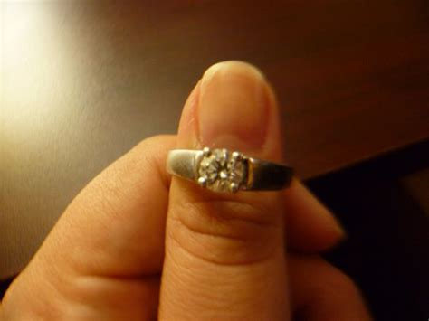 what of wedding band should i get for a raised