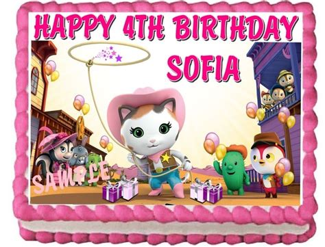 sheriff callie s west birthday ideas and