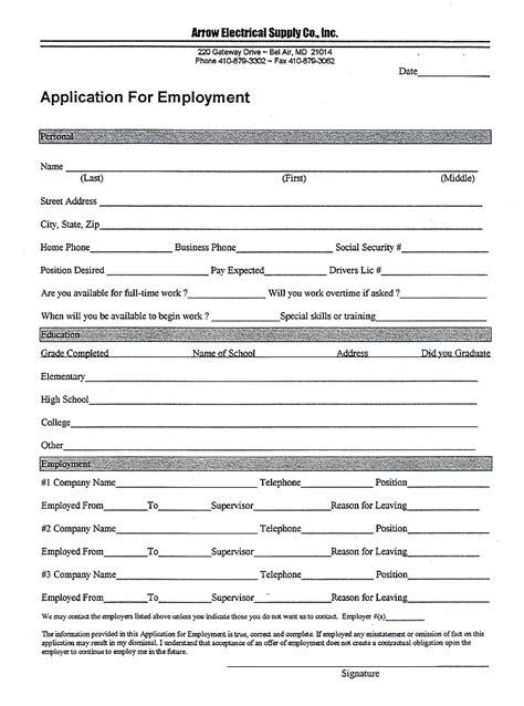 application for employment jobproposalideas