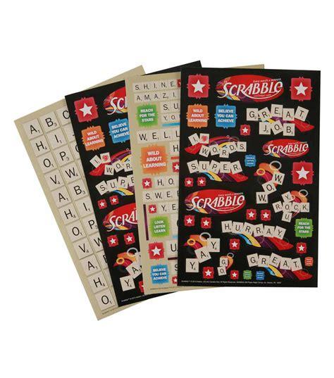scrabble books scrabble sticker books jo