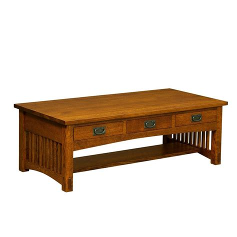 3 Drawer Coffee Table by Borkholder 13 2502xxx Bungalow 3 Drawer Coffee Table