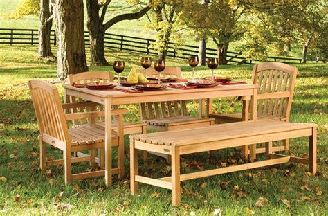ways to keep outdoor teak wood furniture bistrodre porch
