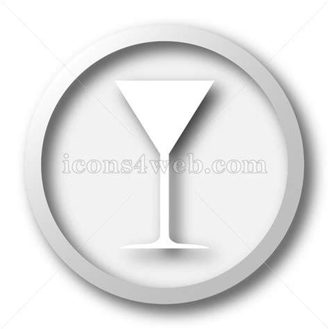 martini white martini glass white icon martini glass white button