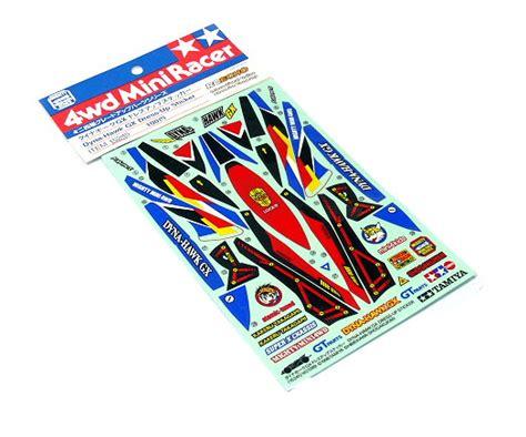 Mini 4wd Discharger tamiya mini 4wd model racing dyna hawk gx dress up sticker 15245 mini 4wd rcecho