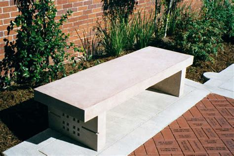 precast concrete bench product gallery