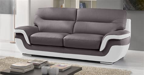 40 inspirant canap 233 bicolore cuir phe2 fauteuil de salon