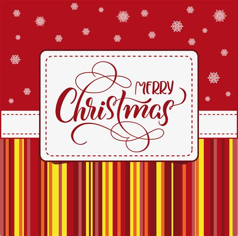 holiday frame  merry christmas  white background calligraphy  lettering vector