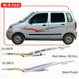 R Car Sticker by Buy Wagon R Side Sticker Graphics Decals Get