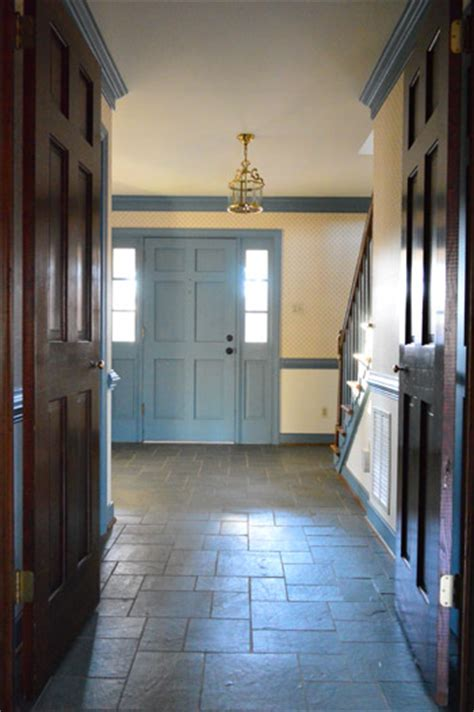 A Foyer Foyer Freshness A Soft Neutral Paint Color House